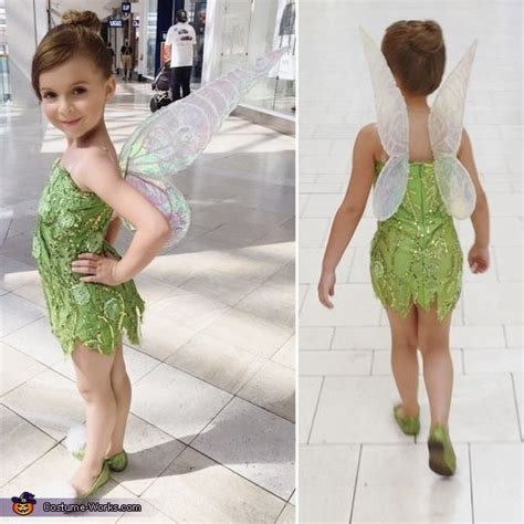 Handmade Tinkerbell Costume - best 25 diy tinkerbell costume ideas on
