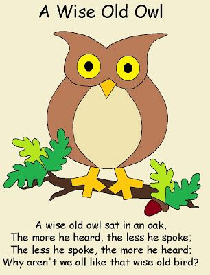 Owl Play Time play with me wise owl nursery rhyme