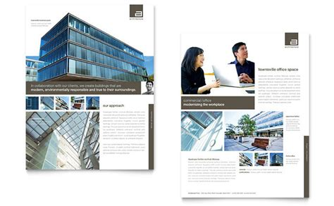 architectural design template architect datasheet template design