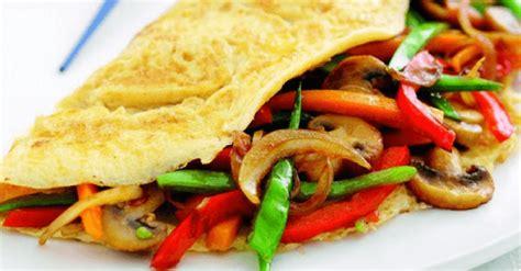 Vegetable Omelette Recipe Stir Fry Quick Egg Recipes