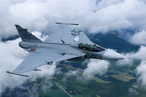 Background Jas | saab jas 39 gripen full hd wallpaper and background image