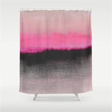 pink black shower curtain fresh from the dairy shower curtains design milk