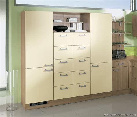 Modern Pantry Cabinet by Pictures Of Kitchens Modern Two Tone Kitchen Cabinets