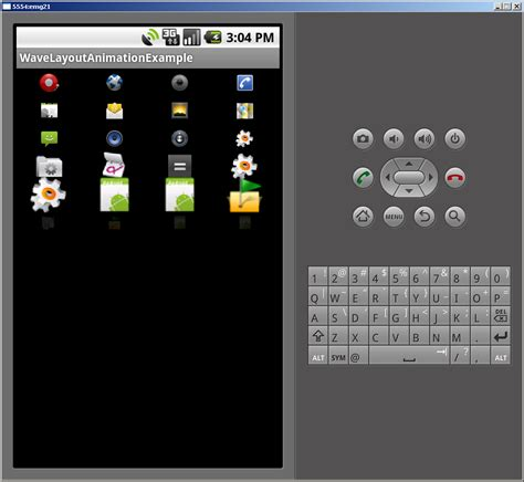 android layout animation marquee wave layout animationexle edumobile org