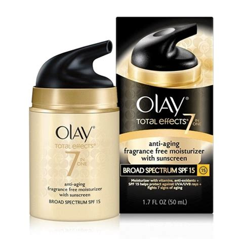 olay total effects fragrance free moisturizer spf 15