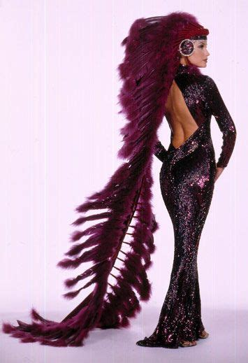 Dress Bobo bob mackie 1990 a dramatic aubergine colored bias cut