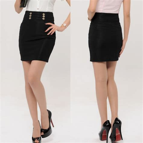 new arrival 2014 formal skirts black fashion