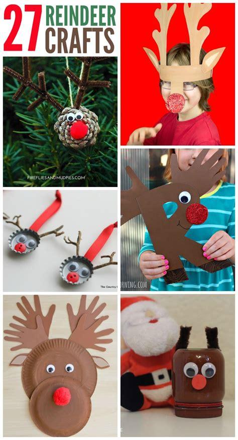 reindeer crafts 27 adorable reindeer crafts to make