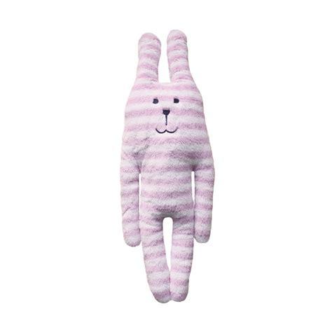 Pink Stripes Rab Craftholic Dolls 90cm pink stripe rab soft hug small craftholic