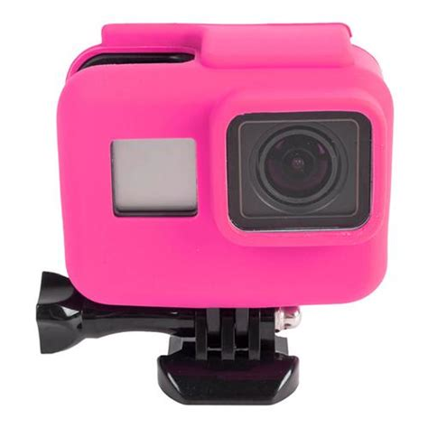 frame soft silicone for gopro hero5 pink