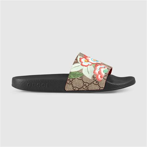 womens gucci sandals gucci women s gucci tian slide sandal
