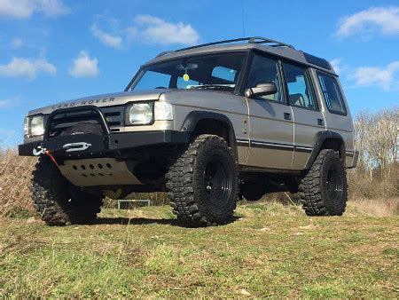 land rover discovery off road bumper dixon fabrication ltd rock sliders tank guards winch
