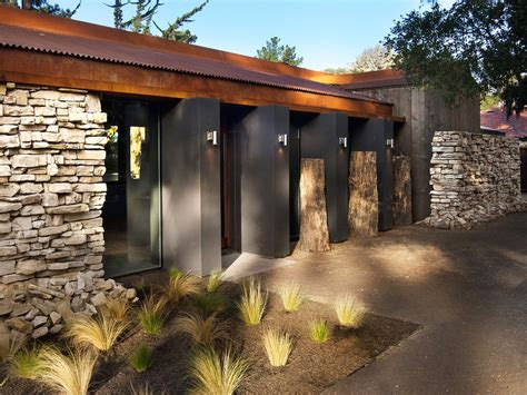 Backyard Cottage Plans updated mid century home with private 2 tier courtyard