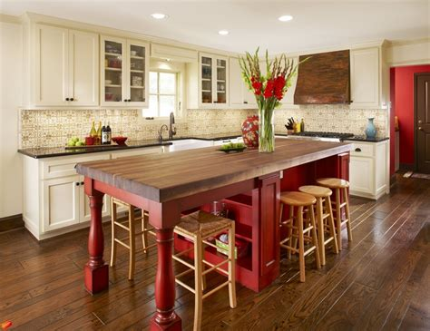 kitchen island red baby boomer kitchen cultivate com love this island