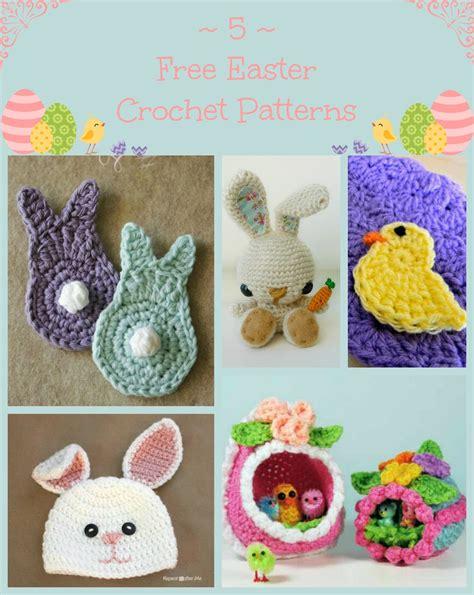 crochet pattern easter crochet patterns easter creatys for