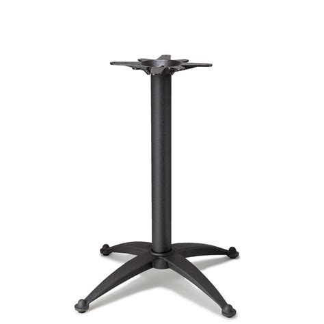 counter height table base n32 black table base counter height 34 3 4