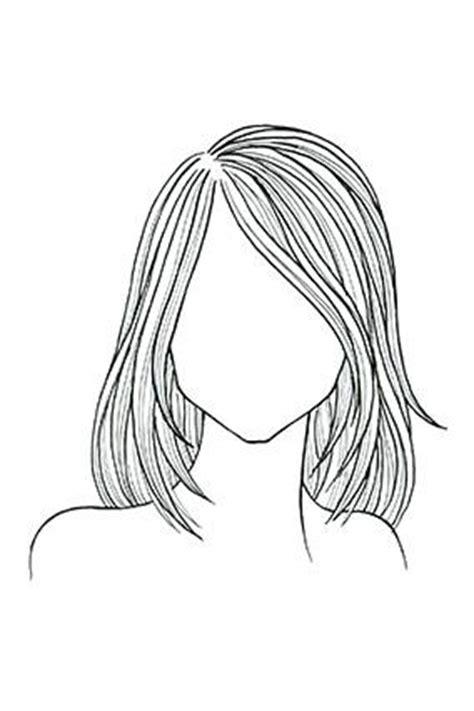 medium length hairstyle sketches koja frizura je prava za vaš oblik lica i teksturu kose