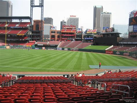 section 136 busch stadium busch stadium section 136 rateyourseats com