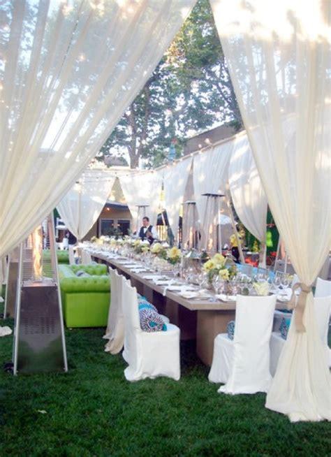 backyard wedding party 20 diy outdoor wedding ideas 99 wedding ideas
