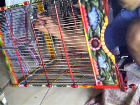 Mesin Bor Sangkar Burung Semi Otomatis cara membuat sangkar burung kenari part 7 doovi
