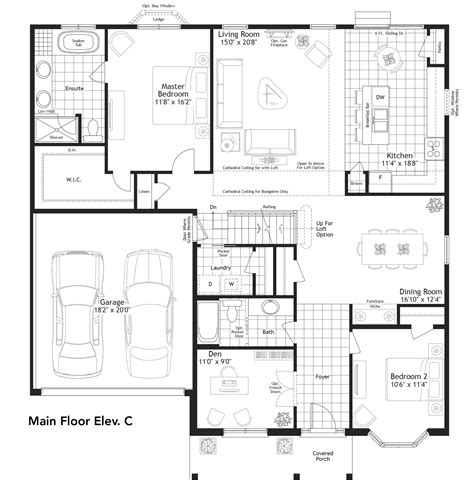 New Home Model Mallard V Bungaloft By Builder Mason Homes Bungaloft House Plans