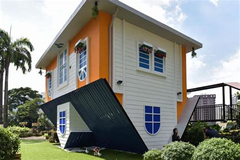 upside down house travel why this house in malaysia is a tourist attraction