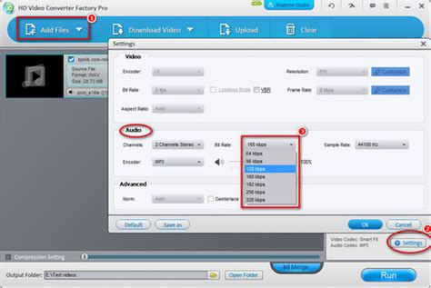 audio format bitrate wav compression how can i compress wav file on windows