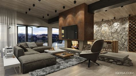 rich home interiors 4 modern homes with amazing fireplaces and creative lighting