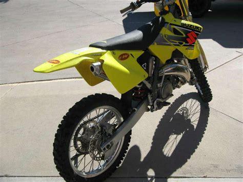 Suzuki Dirt Bike 125 Buy 2002 Suzuki Rm 125 Dirt Bike On 2040motos
