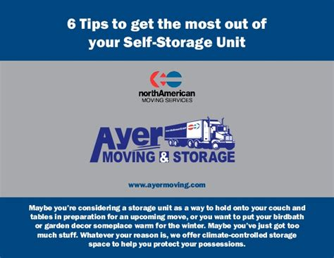 10 tips to get the most out of selling your home 6 tips to get the most out of your self storage unit