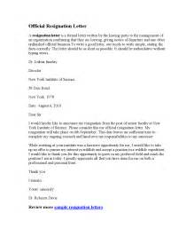 Resignation Email Letter Sle by Resignation Letter Format Resume Letter Of Resignation Effective Immediately Professional