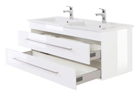 Badezimmer Unterschrank 130 Cm by Doppel Waschtisch Unterschrank Mit Villeroy Boch Becken
