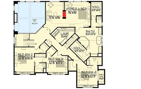 big sport court house plan 73356hs architectural