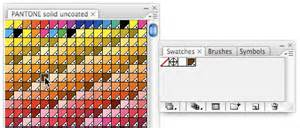 pantone colors in illustrator using pantone swatches in illustrator