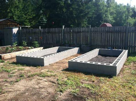 fabric raised garden beds cinder block raised beds garden pinterest gardens