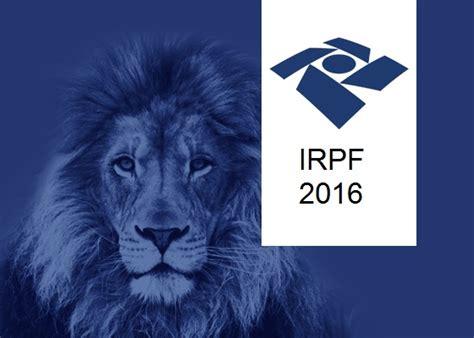 geap imposto de renda 2016 prepare se para o irpf 2016 imposto de renda pessoa f 237 sica