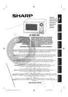 Sharp Microwave Oven R 21a1 W In sharp microwave oven manual in the nederlands