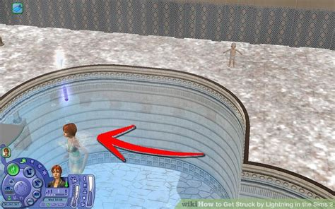 how to get the lighting how to get struck by lightning in the sims 2 3 steps