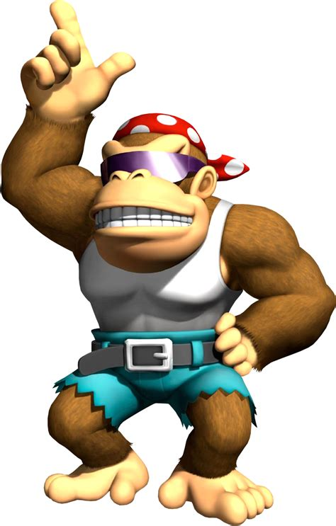 Funky Kong The Nintendo Wiki Wii Nintendo Ds And All Kong Coloring Page