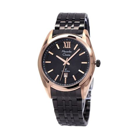 Harga Jam Tangan Alexandre Christie W R 50m jual alexandre christie 8501 ldbbrba jam tangan wanita