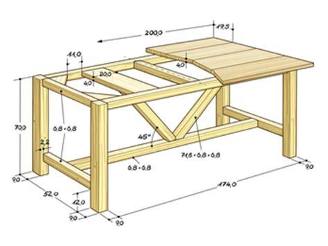 Untergestell Tisch Selber Bauen