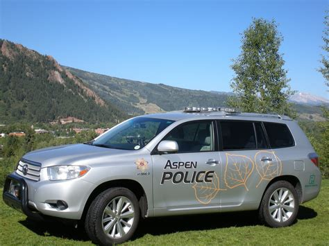 examples aspen police department