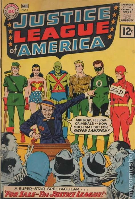 justice for some books justice league of america 1960 1st series comic books