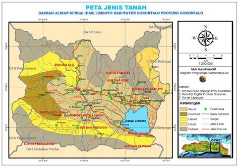 peta jenis tanah sulawesi catatan kuliah geografi