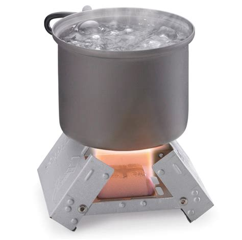 What Is A Solid Fuel Stove by Esbit Ultralight Folding Pocket Stove With