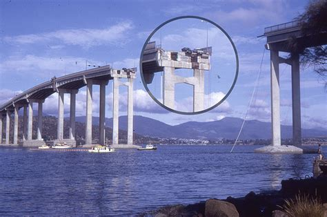 boat rs near skyway bridge 1975 tasman bridge disaster flickr photo sharing