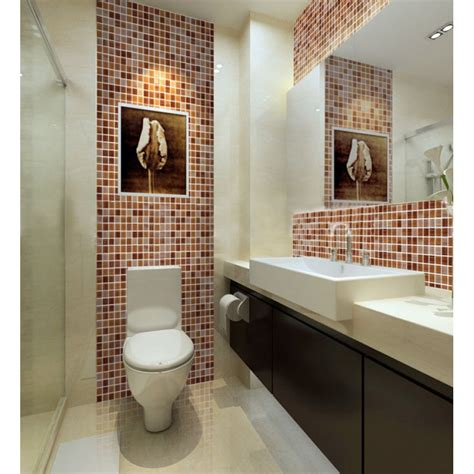 discount bathroom tiles brown mosaic tile backsplash cheap crystal glass sheet