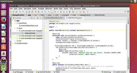 tutorial install android studio di ubuntu how to install android studio in ubuntu