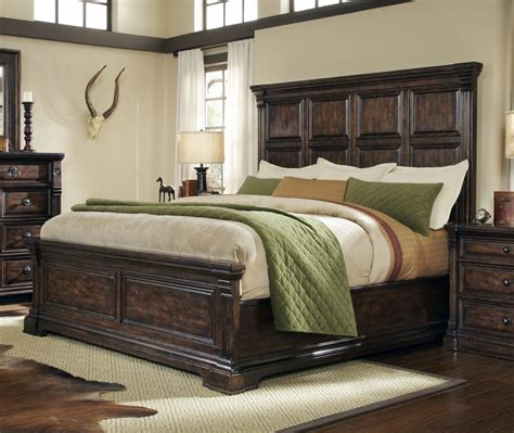 king frame bed art furniture st germain california king upholstered