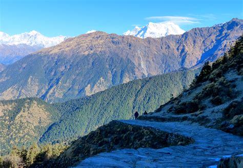 Uttarakhand Search File A View Of Himalayas Tungnath Trail Uttarakhand India November 2013 Jpg